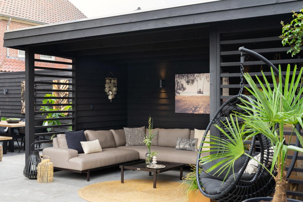 Langenboom | Buitenkamer en schutting